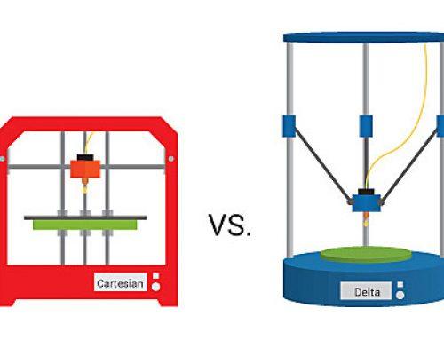 FDM Printer, Cartesian vs Delta Printer